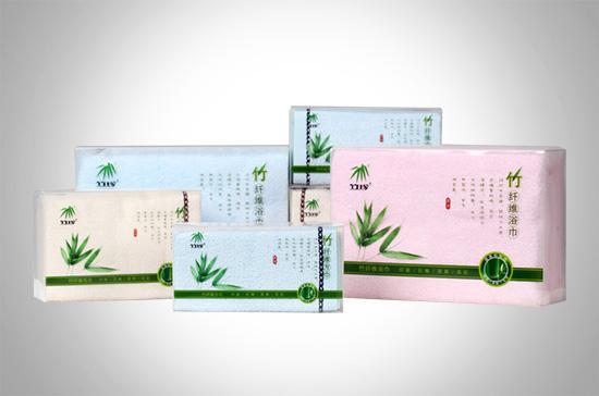 竹珍®竹纤维毛巾