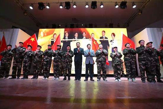 新时代举行河北联合流动党支部授牌仪式
